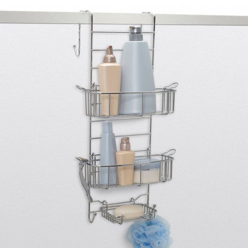 Zenith E7803STBB Over the Door Shower Caddy - E7803STBB | Products ...