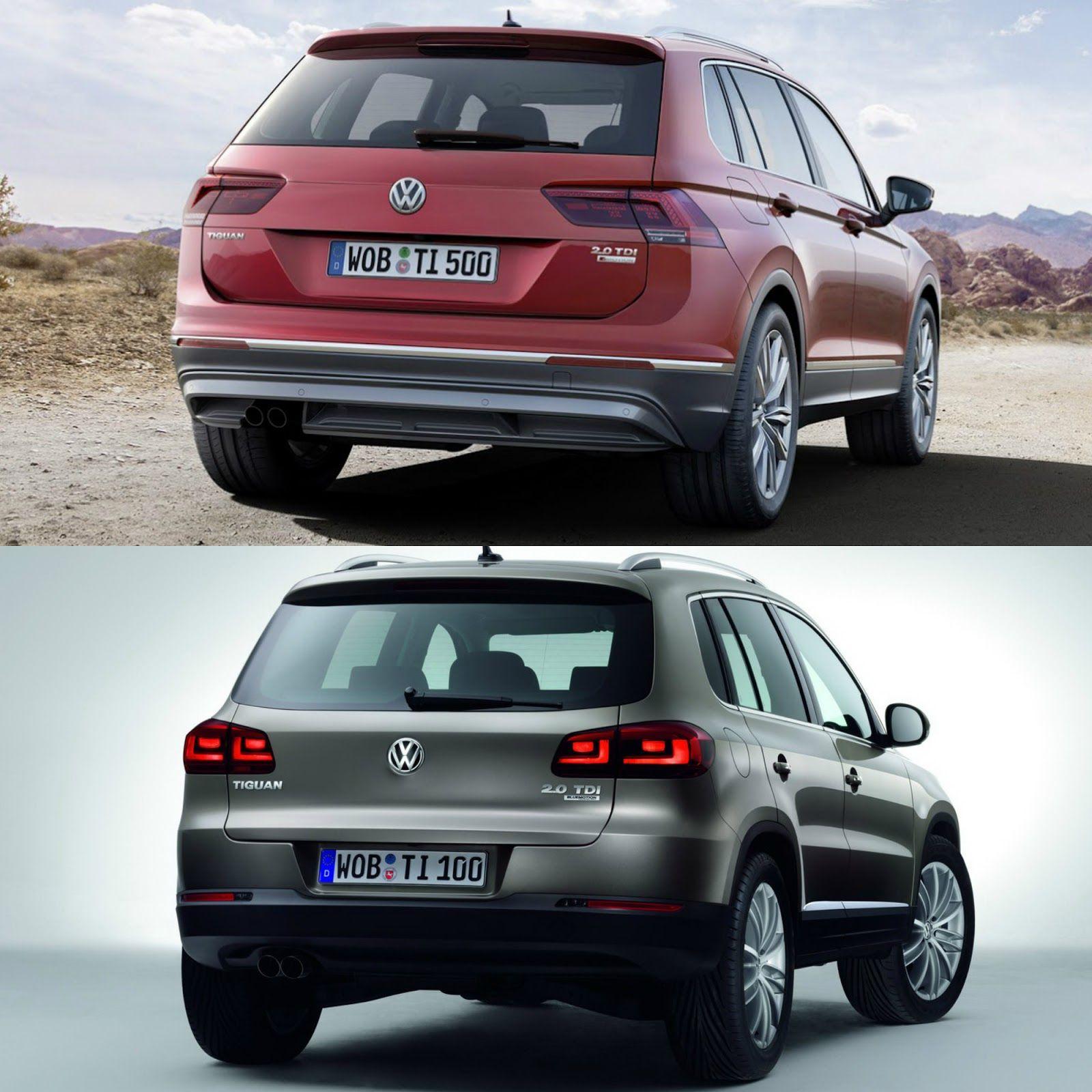 Yeni Eski VW Tiguan Karşılaştırması (With images