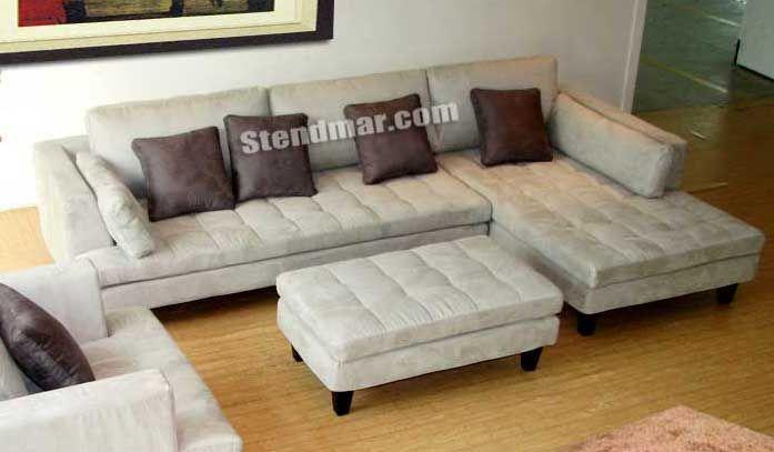 Welcome to Stendmar.com 3pc modern microfiber sectional sofa ...