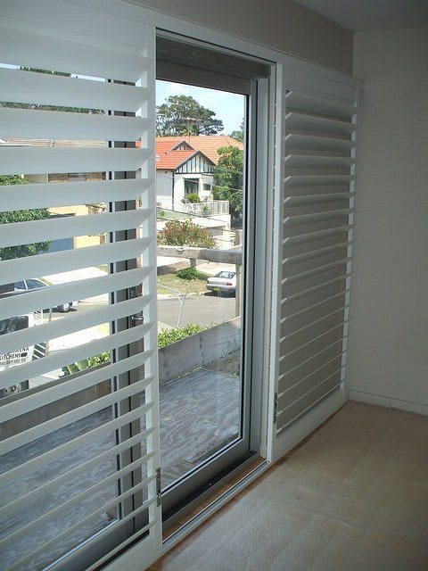 Sliding Plantation Shutters Beach Ideas Sliding Door