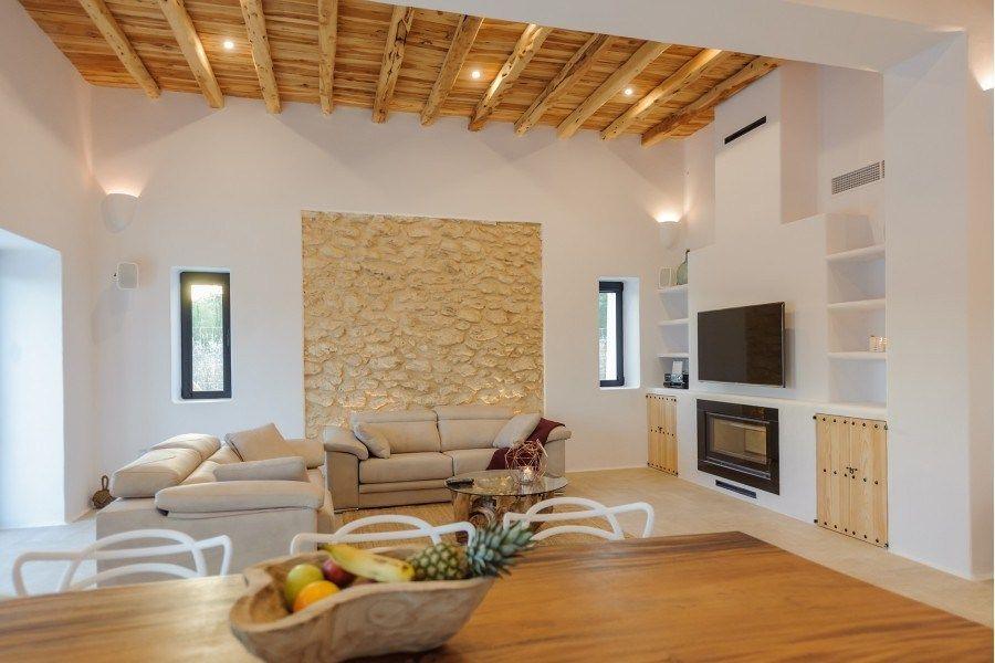 Villa De Estilo Mediterraneo En Ibiza Estilo Mediterraneo Casas Estilo En El Hogar Decoracion Hogar