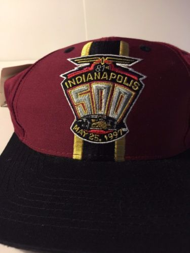 NEW Lincoln Electric 1997 Indianapolis 500 SnapBack Baseball Cap Trucker Hat 32cca9c6270