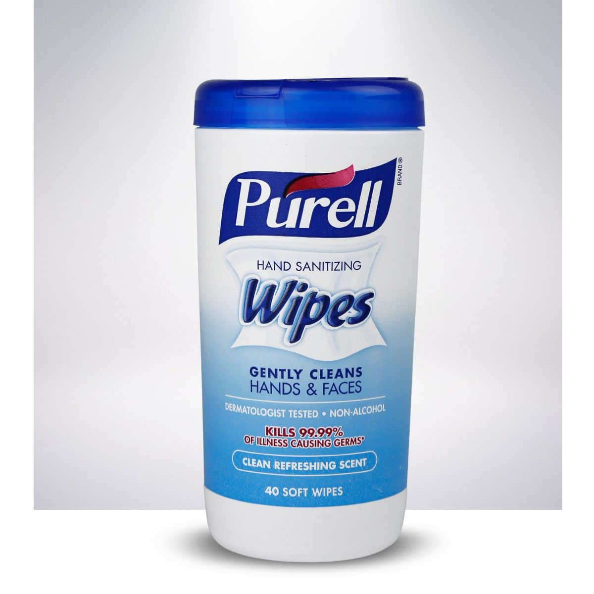 Purell 9121 06 Cmr Hand Sanitizing Wipes Fragrance Free 40 Count