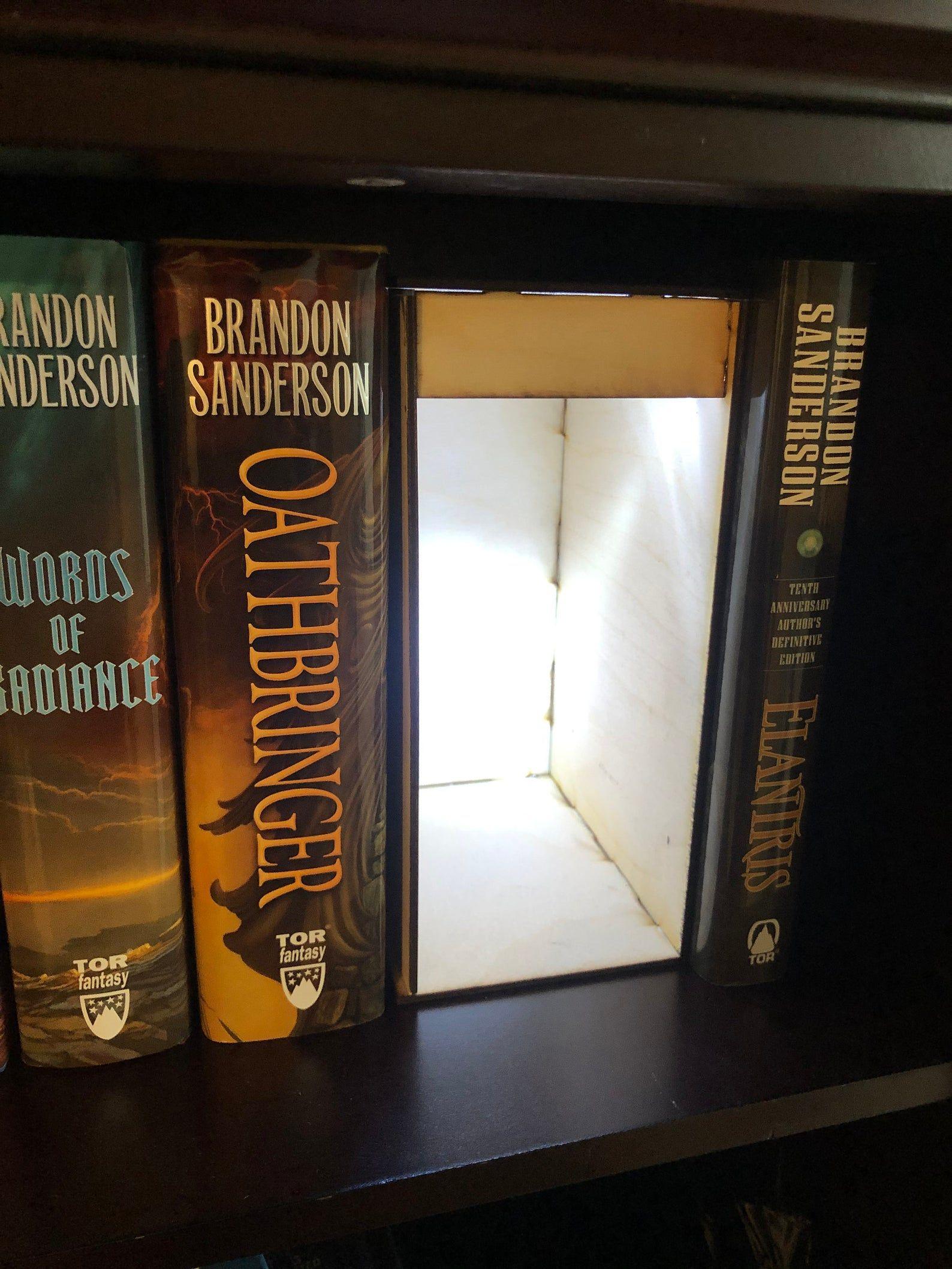 Diy Book Nook Shelf Insert Kit Diy Book Book Nooks Diy Kits