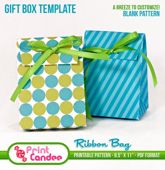 Make Your Own Gift Bag Out Of Cardstock Here Is A Similar Template Http