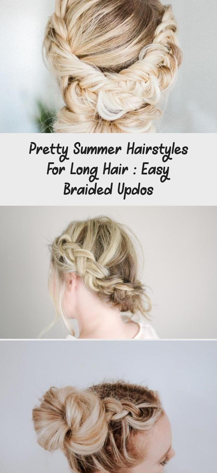 Pretty Summer Hairstyles For Long Hair : Easy Braided Updos – Hairstyle