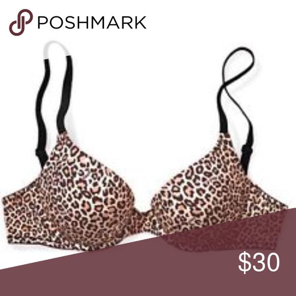 Victoria's Secret Leopard Bra Victoria's Secret leopard-print bra, size 32A. Victoria's Secret Intimates & Sleepwear Bras
