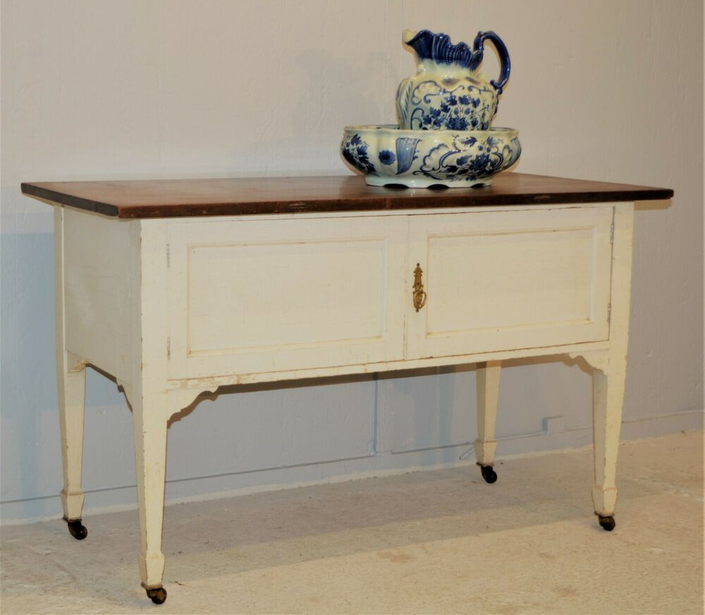 Antique Mahogany Wash Stand Painted Hall Table Shabby Chic Delivery Available Hall Table Wash Stand Antique Wash Stand