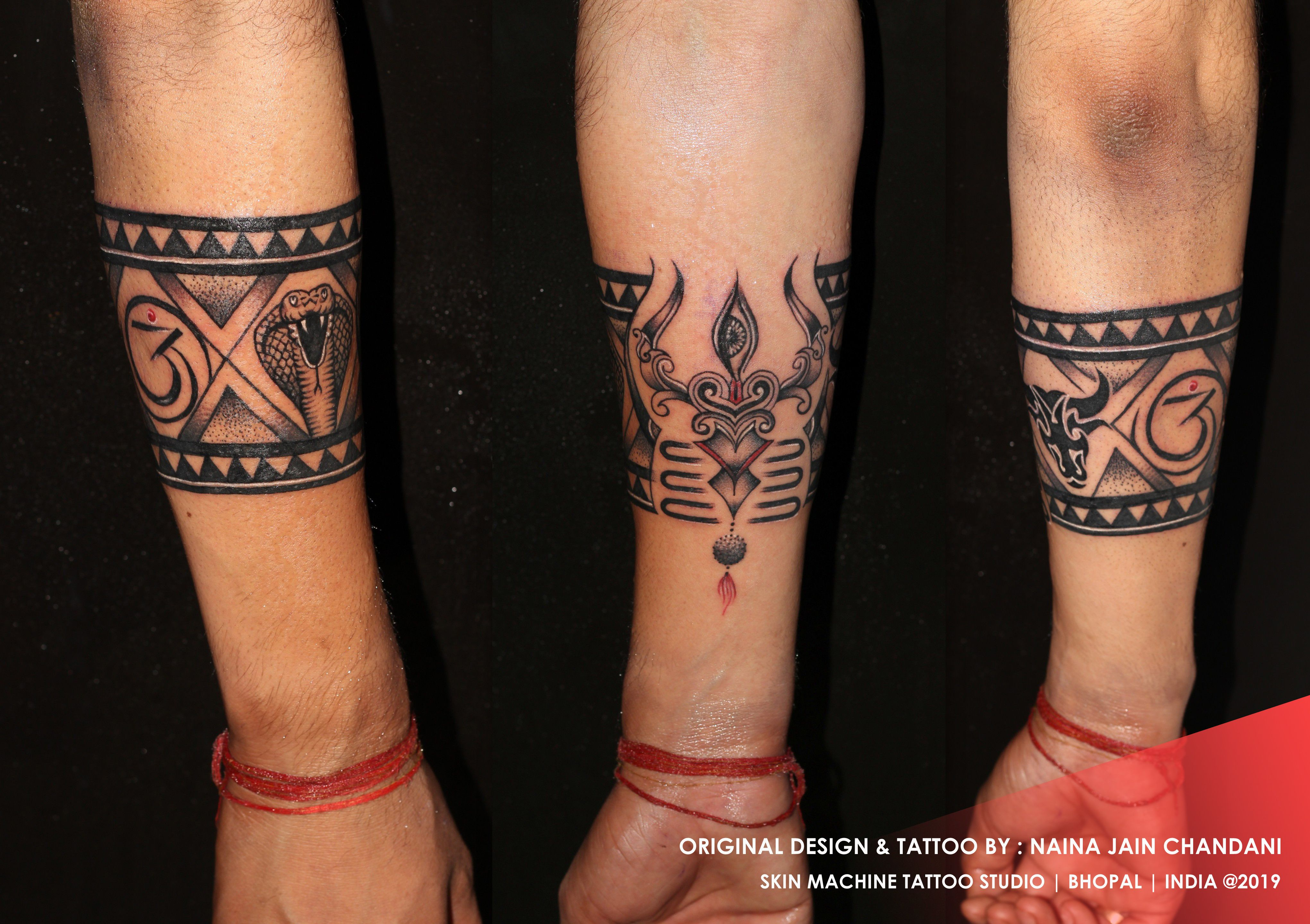 Pin By Buddeezone On My Tattoos Forearm Band Tattoos Band Tattoo Designs Shiva Tattoo Design