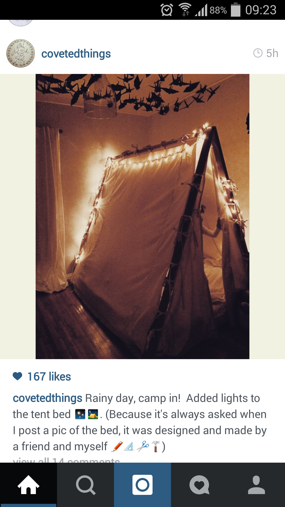 Cool kid's tent