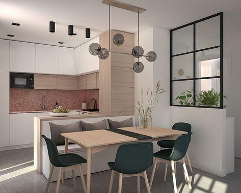 New in portfolio: Cozy living room in warm neutral tones