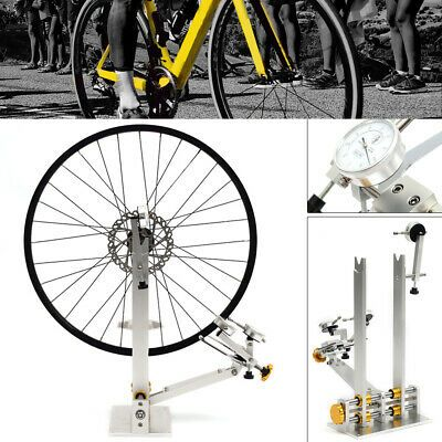 Bicycle Wheel Repair Truing Bearing Stand Platform Mechanic Repairing Rack