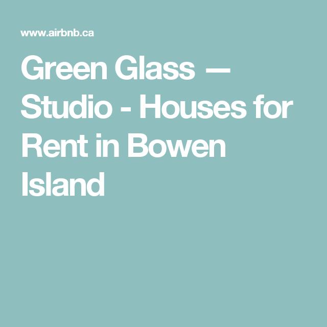 Vottages For Rent Bowen Island Bc
