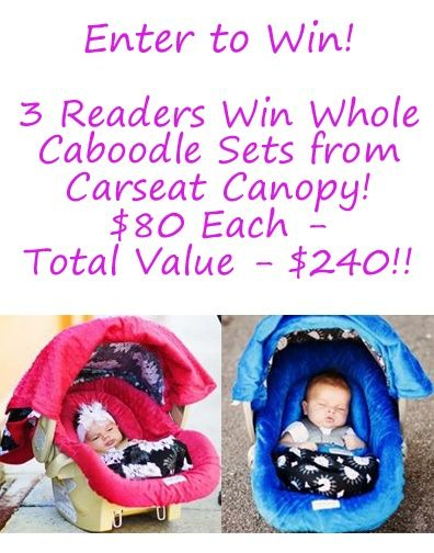 Giveaway 3 Readers Win Whole Caboodle Sets From Carseat Canopy