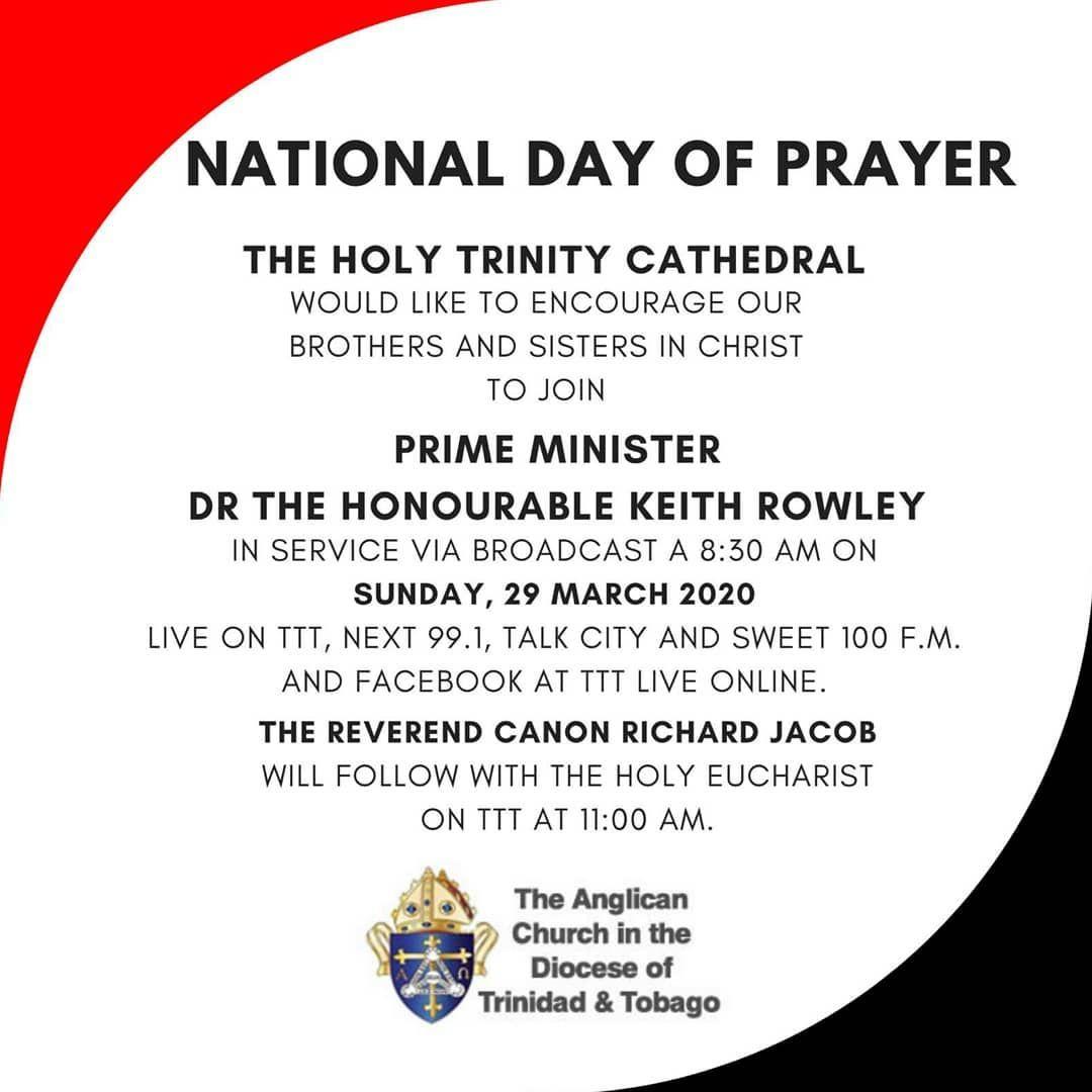 National Day Of Prayer Trinidadandtobago In