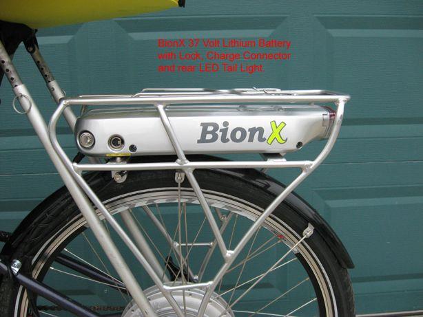 Hub Motor Making A Tandem Electric Assist With Regenerative Braking Motor Generator Bicycle Tandem