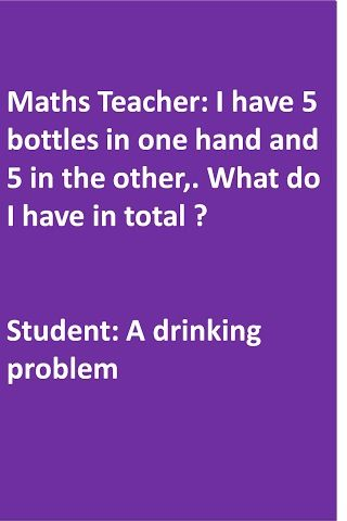 Math Teacher Joke Lil Bit Inappropriate For My Students But Itd Be A Funny Response