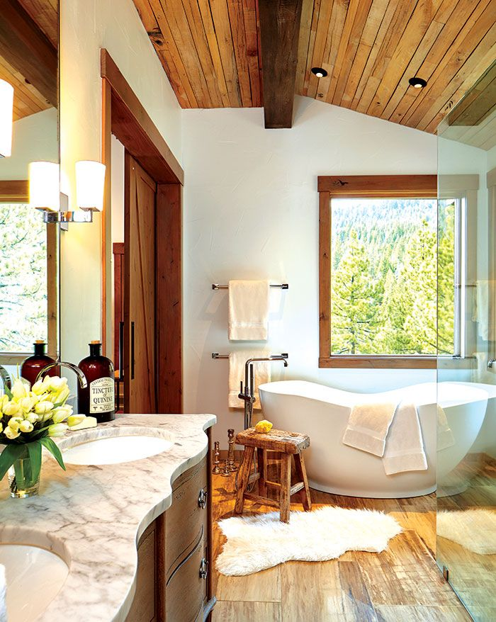 Modern Mountain Home Tour Guest Wing: A Sophisticated Sanctuary In Incline Village, Nevada In