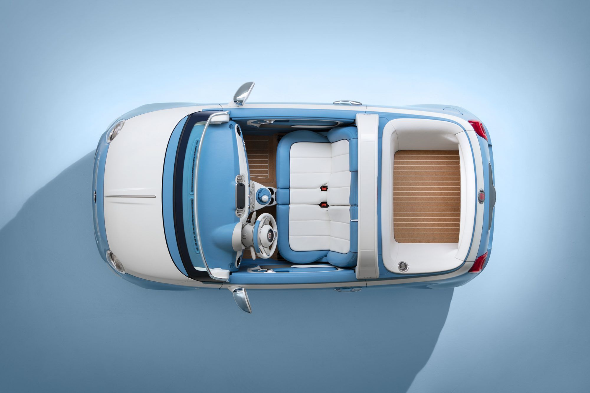 Riviera Flare Meet The Fiat 500 Spiaggina A Tribute To The