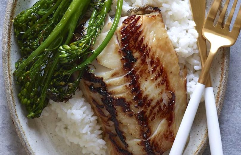 Grab the recipe for this Miso Marinated Black Cod! Its