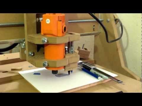 Sharpie Holder for Homemade DIY CNC Router | CNC Hobby in 2019 | Diy