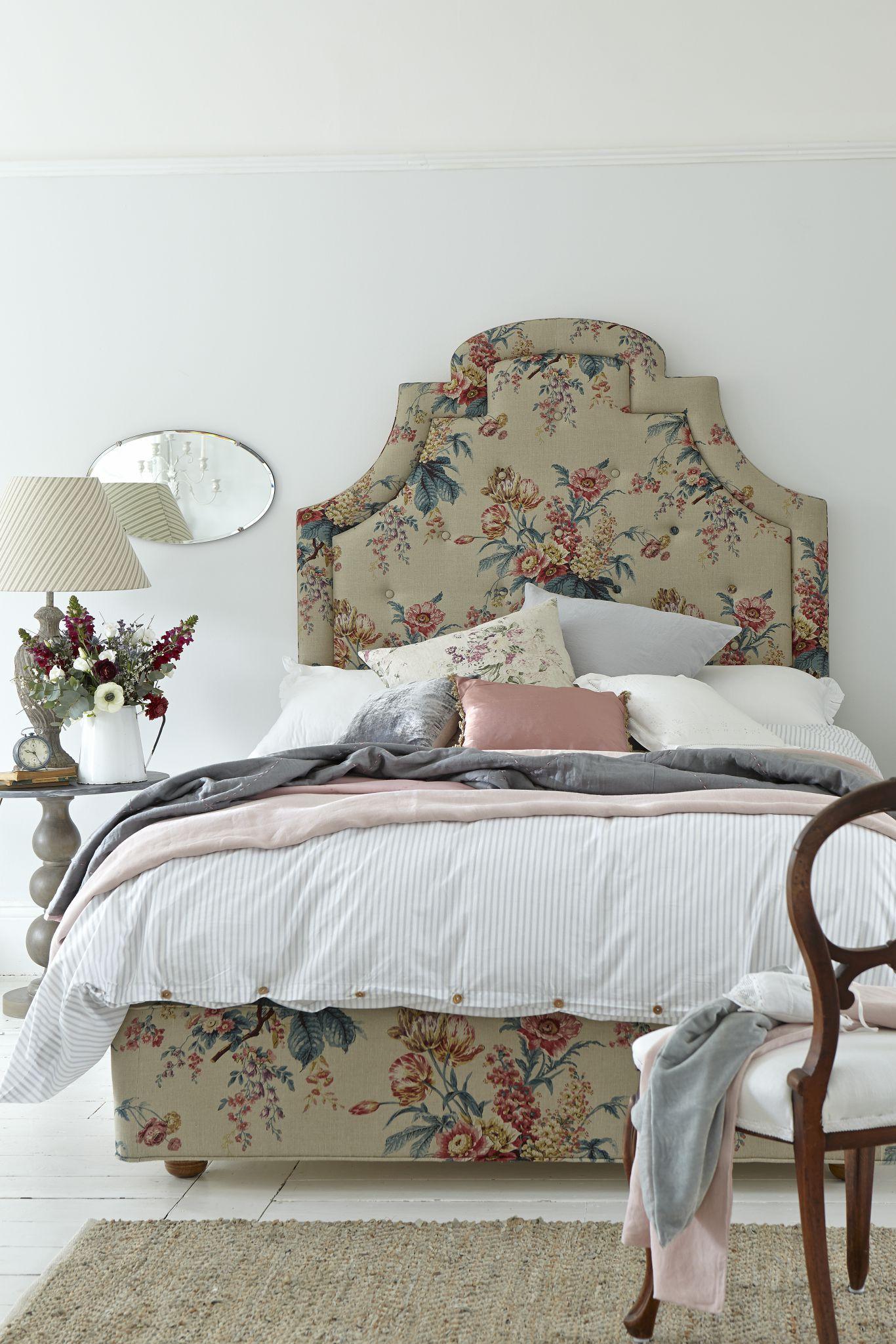 La camera da letto in stile francese | decorazioni casa | French ...