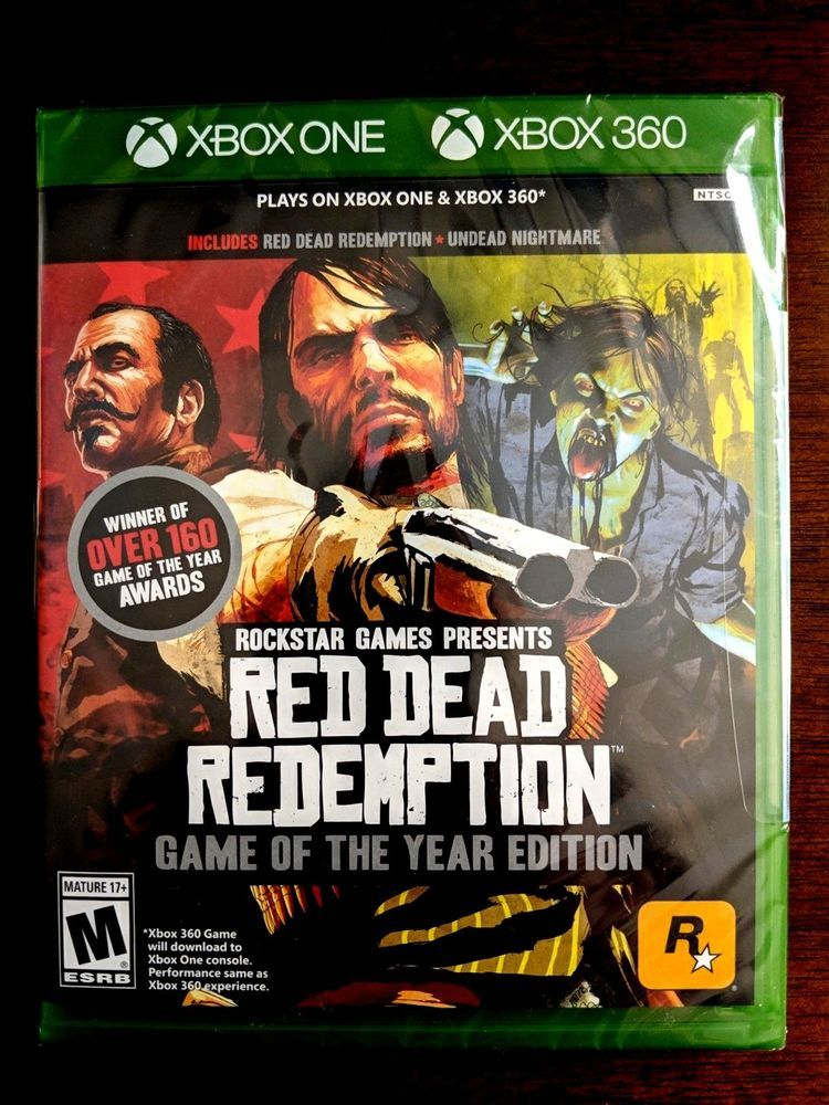 Red Dead Redemption Game Of The Year Edition Xbox 360 Xbox