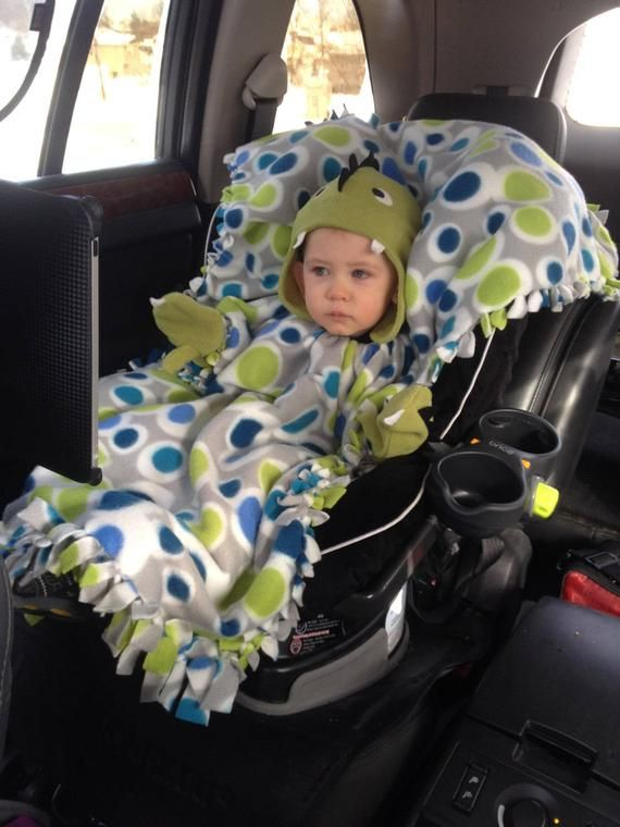 A Blanket Coat Car Seat Cover Poncho Kids Baby Toddler