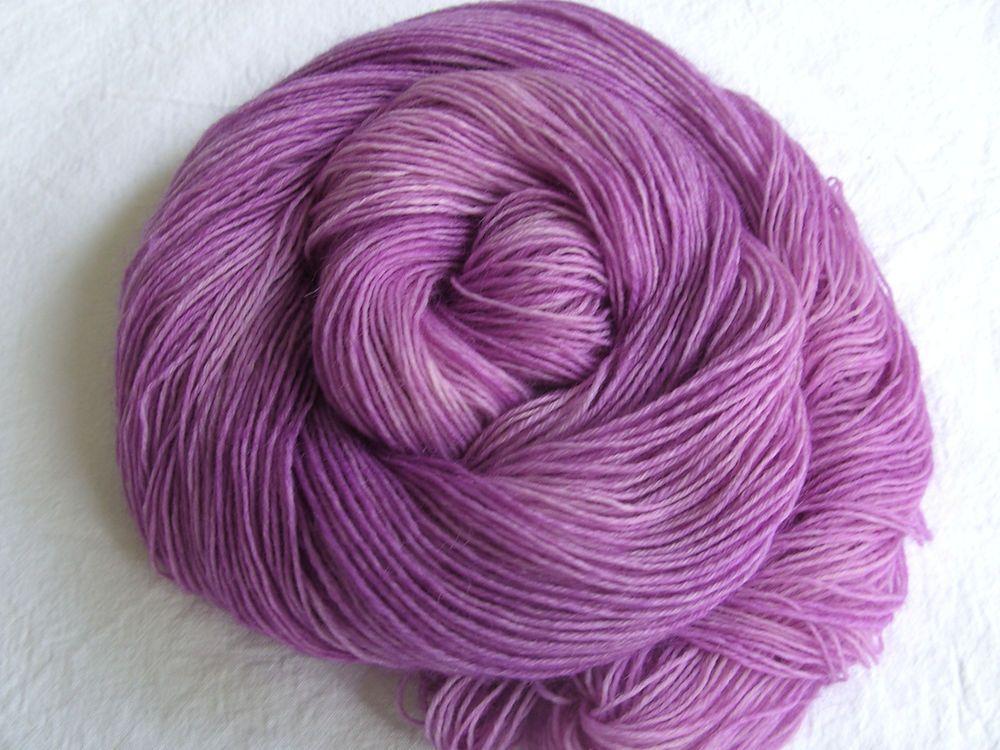 ♥ Sockenwolle 100g ♥ Schurwolle 75% ♥ Handgefärbt ♥ Made by Aleinung ♥ (114)