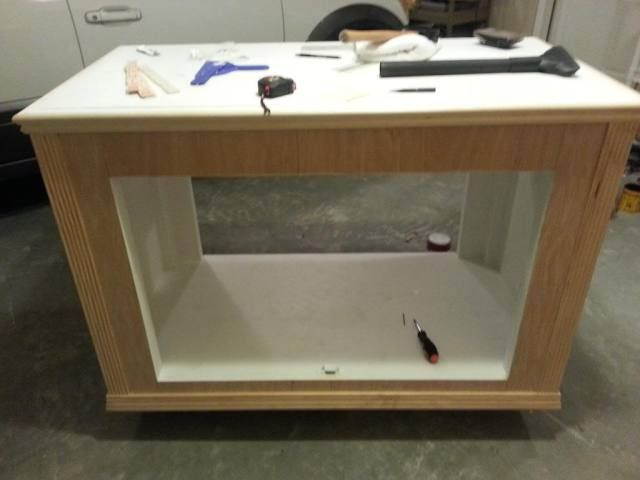 Diy 120 Gallon Aquarium Stand With Removable Center Brace Reef Aquarium Stand 120 Gallon Aquarium Diy Aquarium
