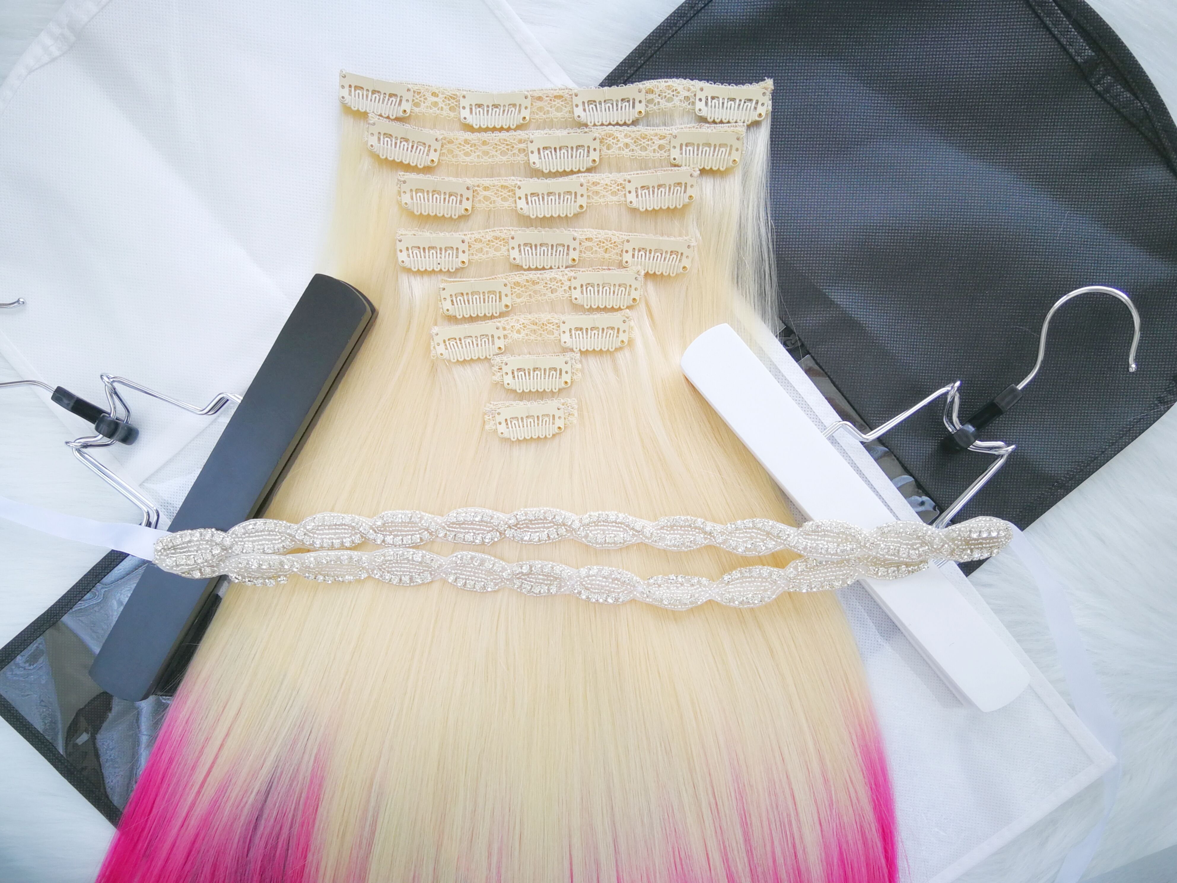 Pin By Aaron Wang On Magic Box Of Luxury Clip In Hair Extensions