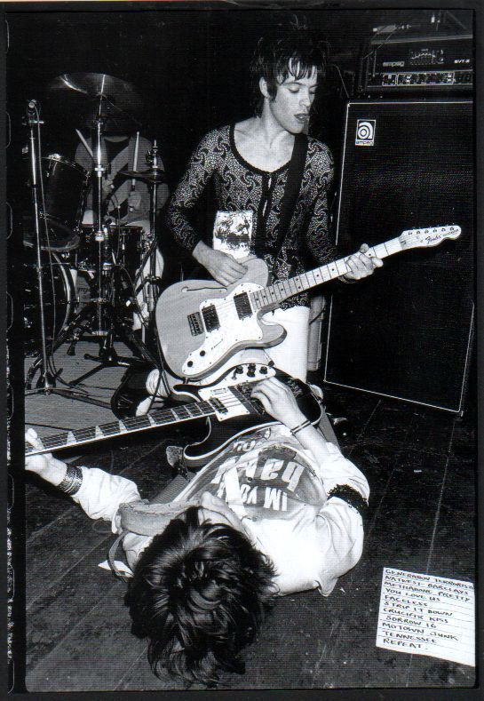 1999 Manic Street Preachers Richey JAPAN mag photo pinup / mini poster m03r