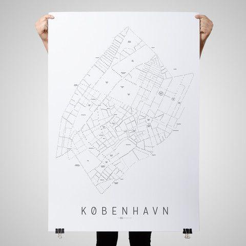 København - White