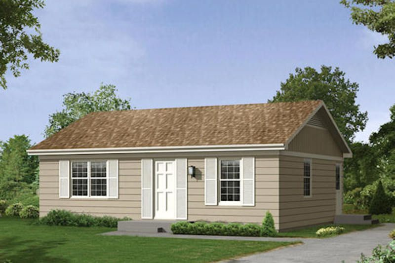 Ranch Style House Plan 2 Beds 1 Baths 800 Sq Ft Plan 57