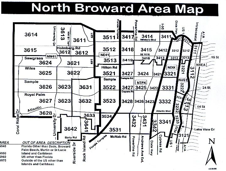 North Broward Area Map With Images South Florida Real Estate