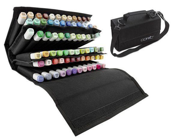 d5ef70a8afdf Marker pens Storage Case / Sketch marker Organizer / Marker Holder ...