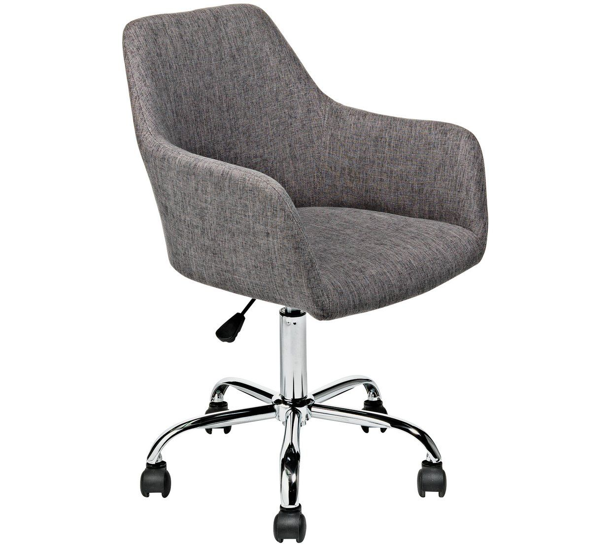 Buy Home Fabric Office Chair Charcoal Limited Stock Home And Garden Argos Office Chair Chair Argos Home