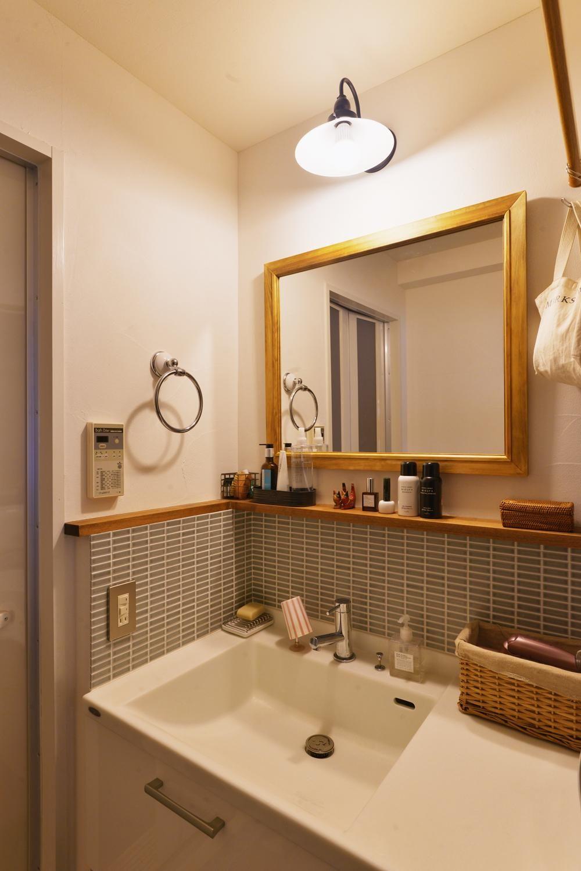 コンパクトなスペースを有効活用!洗面所の整理整頓 ...