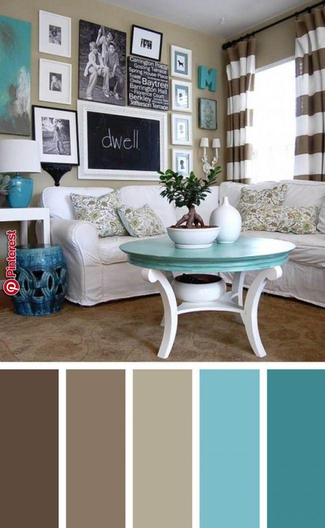 19 Best Living Room Color Scheme Ideas To Make Good Mood Everyday Looking Fo Living Room Color Schemes Living Room Turquoise Brown Living Room Color Schemes