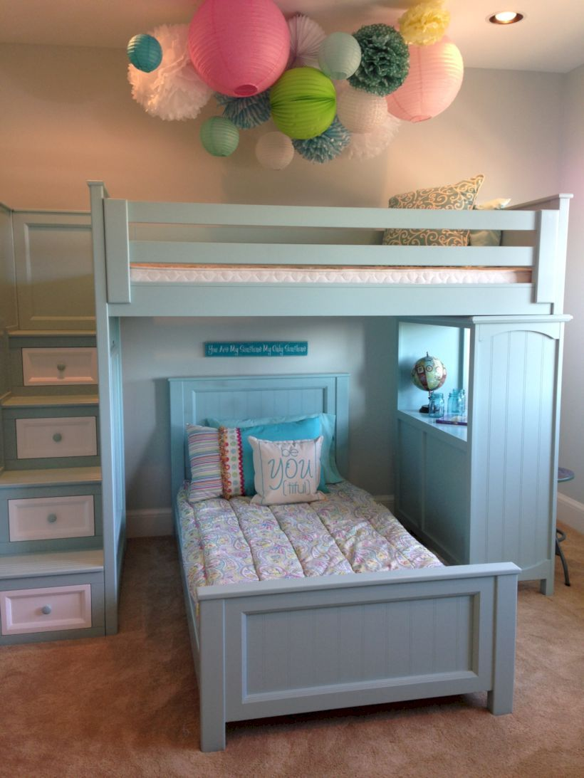 52 cute kids bedroom furniture bunk bed ideas girls bunk on wonderful ideas of bunk beds for your kids bedroom id=74257