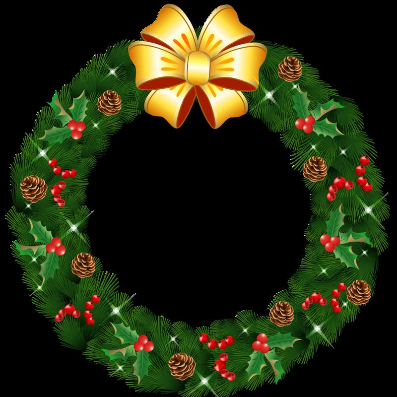 Christmas Png 33 Christmas Wreath Image Christmas Wreath Illustration Christmas Wreath Clipart
