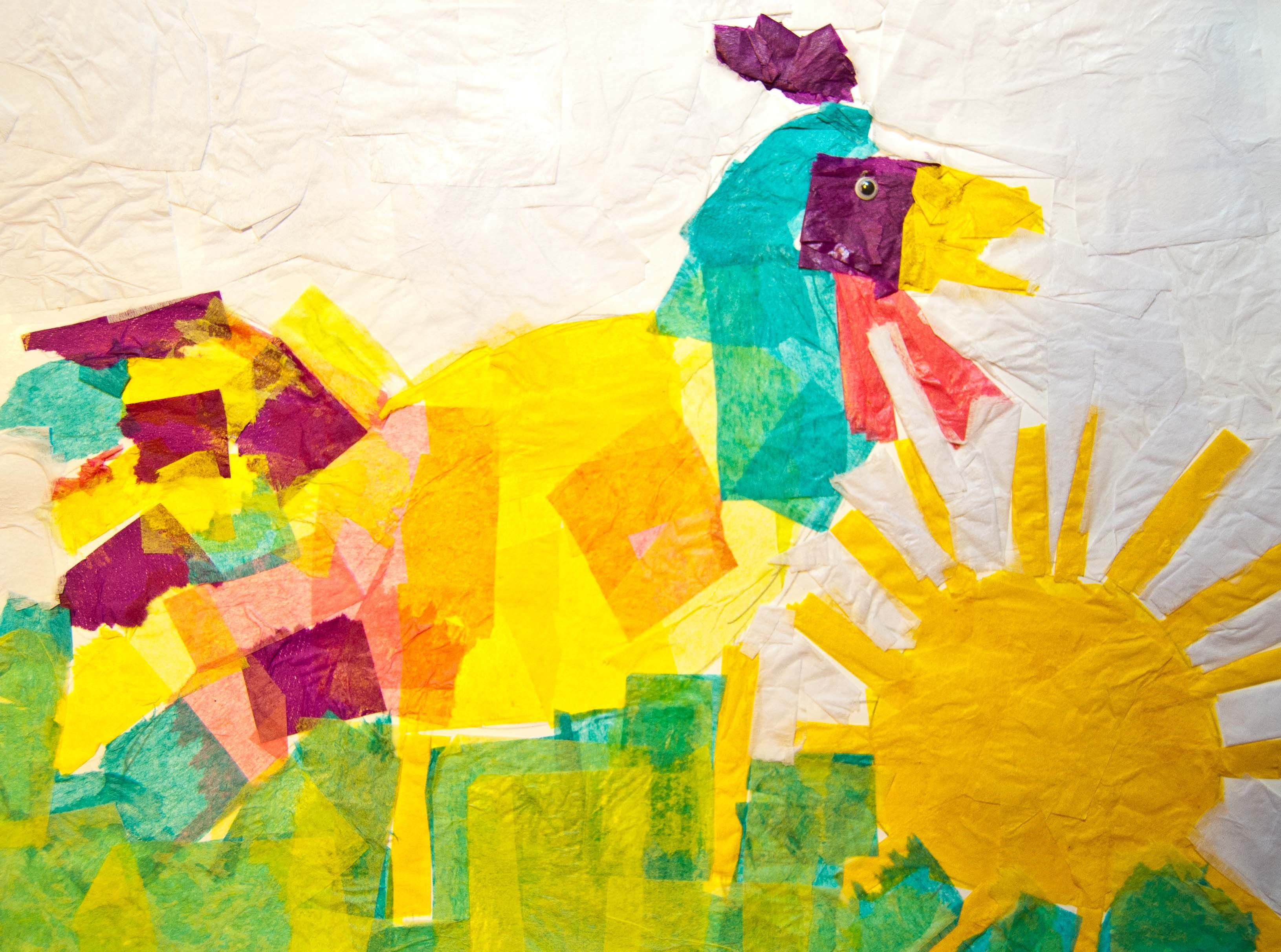 Rooster S Off To See The World Art Activity Do As A Unit