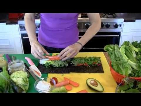 How to make a raw vegan nori wrap recipe video diana stobo videos how to make a raw vegan nori wrap recipe video forumfinder Image collections