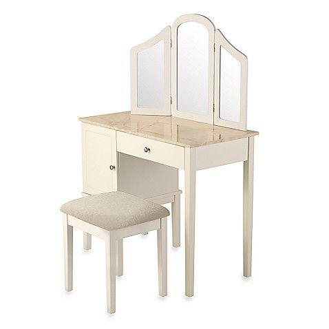 Darlington Vanity And Bench Set This Stylish Vanity Set