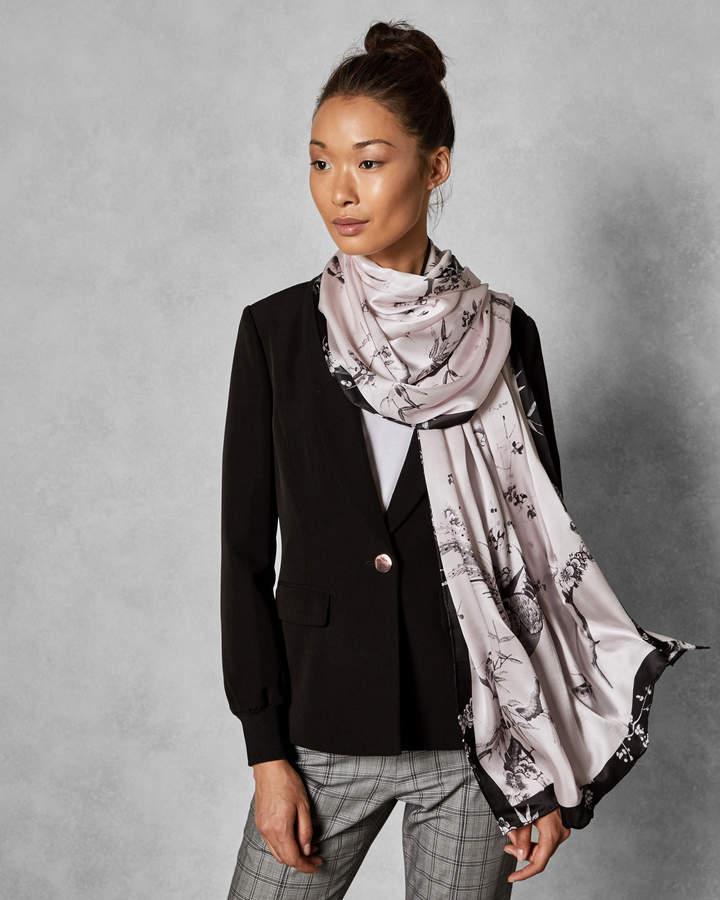 fe22c7ffd Ted Baker ELLISON The Orient long silk scarf