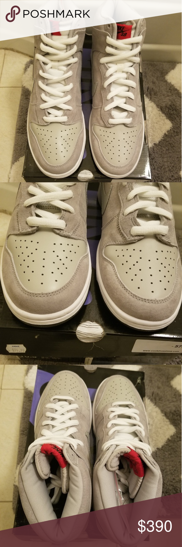 the latest 478be 5f63e Nike SB Dunk High Pee Wee Herman 10.5 NEW Brand new and ...