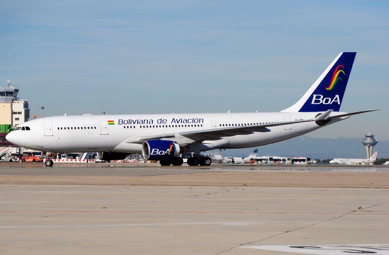 Boliviana de Aviación (BoA) (Bolivia) Airplane, Aviation
