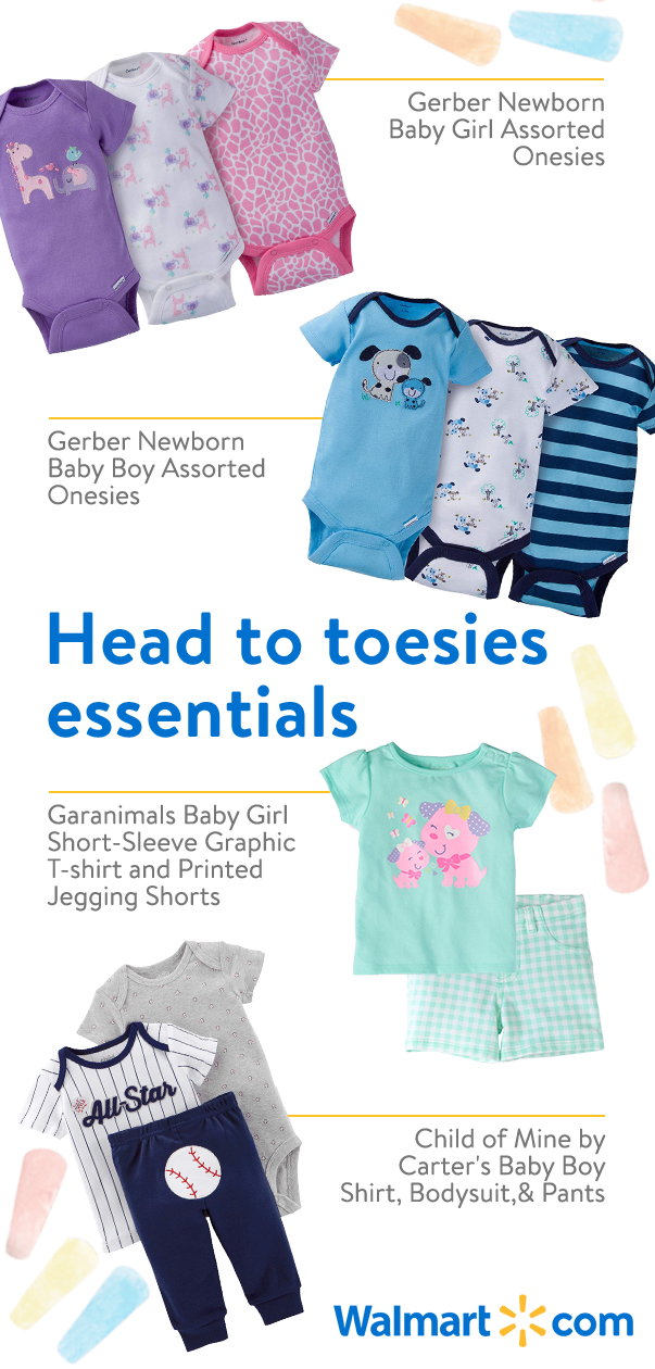 28943ebbb7d43 Get baby all dressed up with adorable and affordable baby clothes from  Walmart. Discover great
