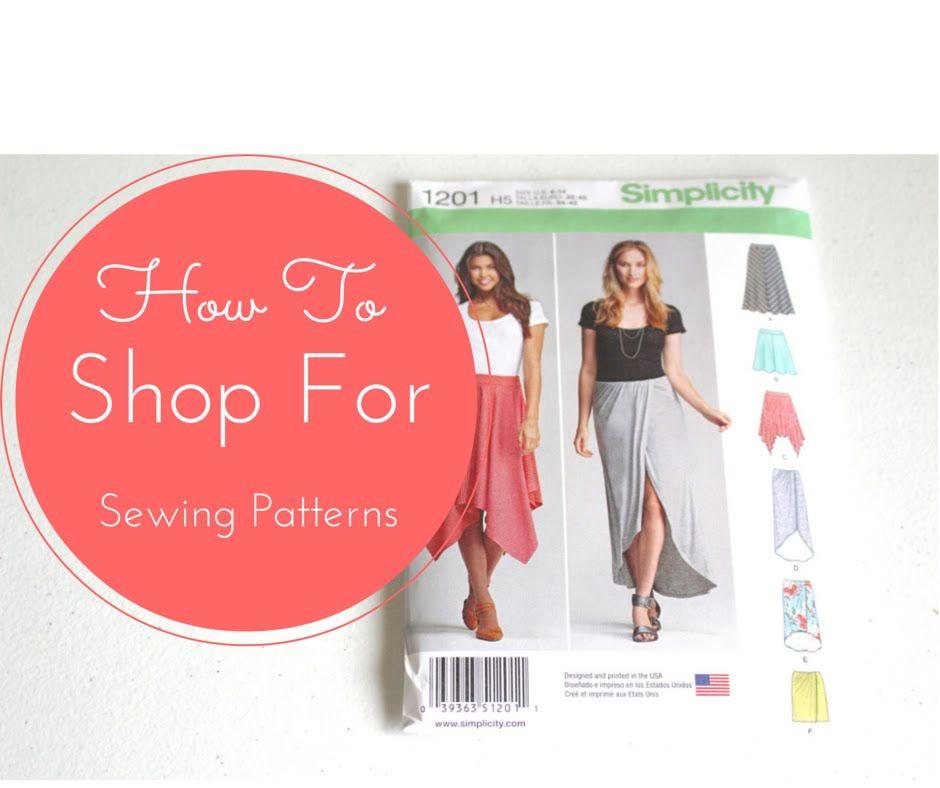 4 - How To Shop For Sewing Patterns - YouTube | Sew Your Marvelous ...