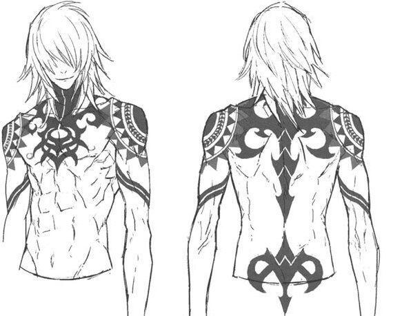 Photo of Some of my Favorite Tattoos in Anime   Gunji                                    …